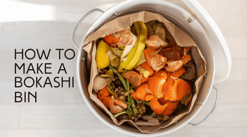 How to Make a Bokashi Bucket for Easy Composting